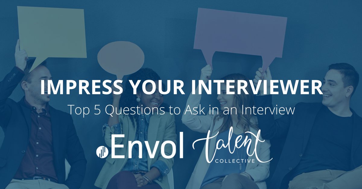 Impress Your Interviewer: Top 5 Questions to Ask in an Interview