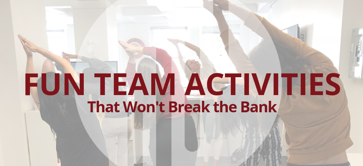 5 Fun Team Activities That Won't Break the Bank