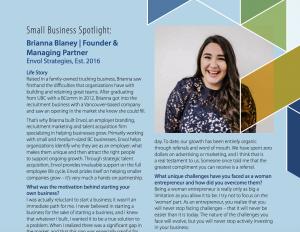 2018 Small Business Profile Report