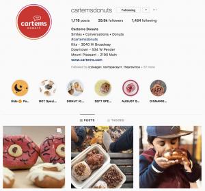 Cartems Employer Brand on Social Media