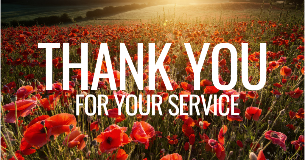 Veterans - Thank You For Your Service