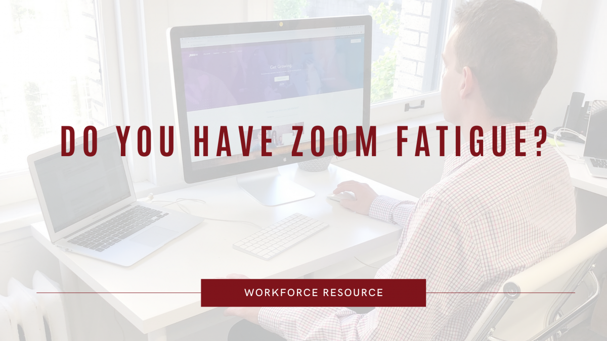 Dealing with Zoom Fatigue